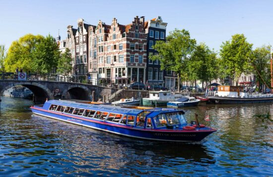 Canal Cruise - free with Amsterdam City Card