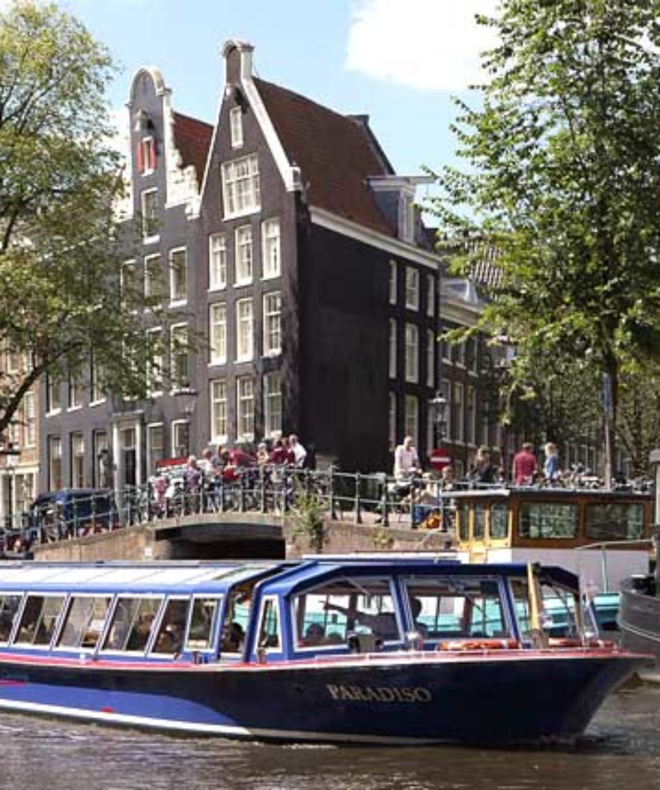 Blue Boat company  Canal Cruise