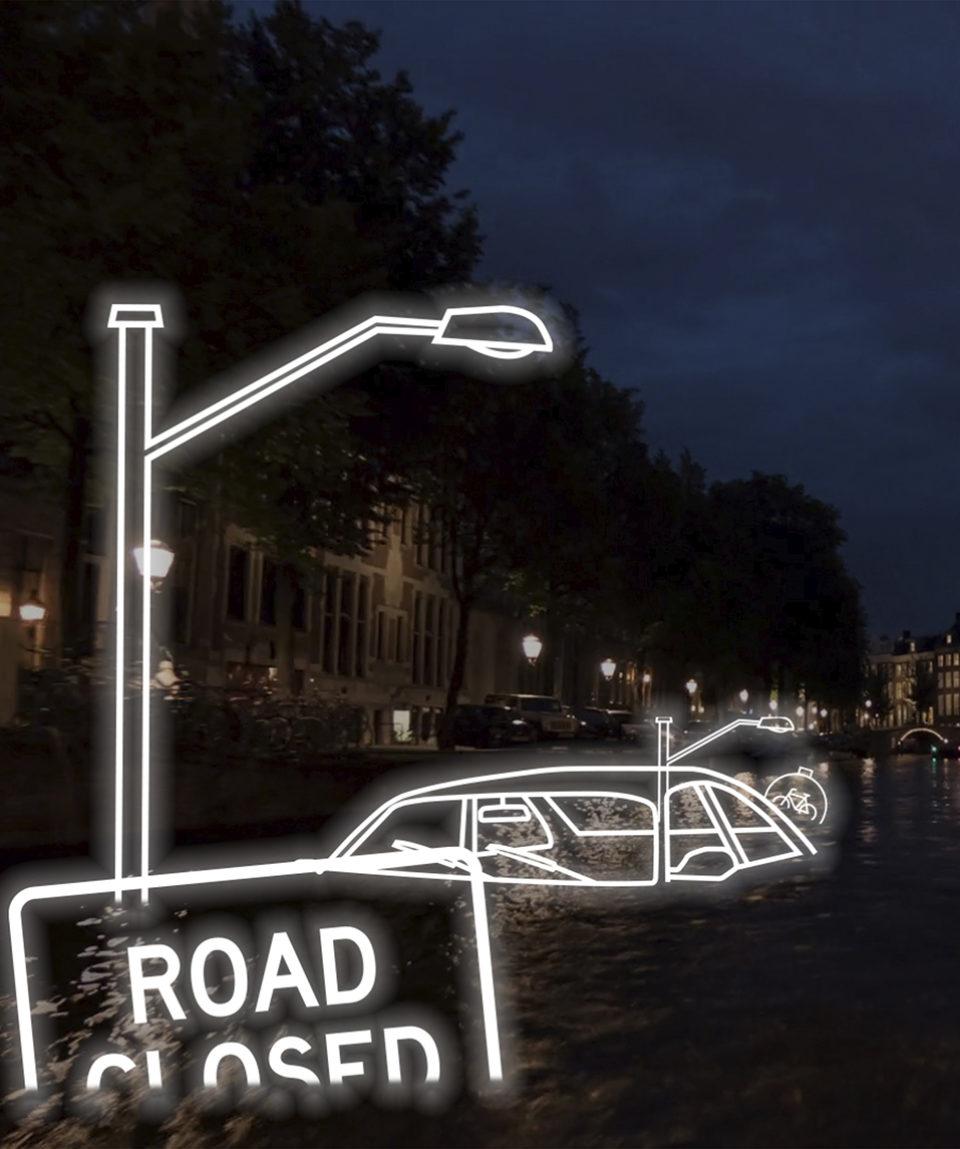 Amsterdam Light Festival | Blue Boat
