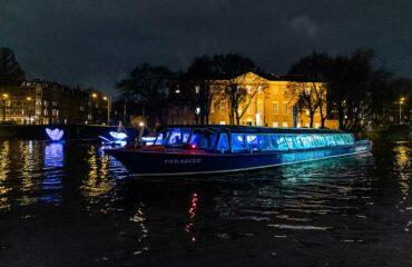 Evening Cruise during Amsterdam Light Festival