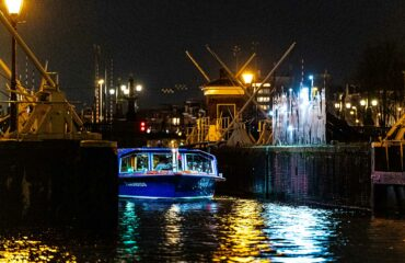 Evening Cruise during Amsterdam Light Festival
