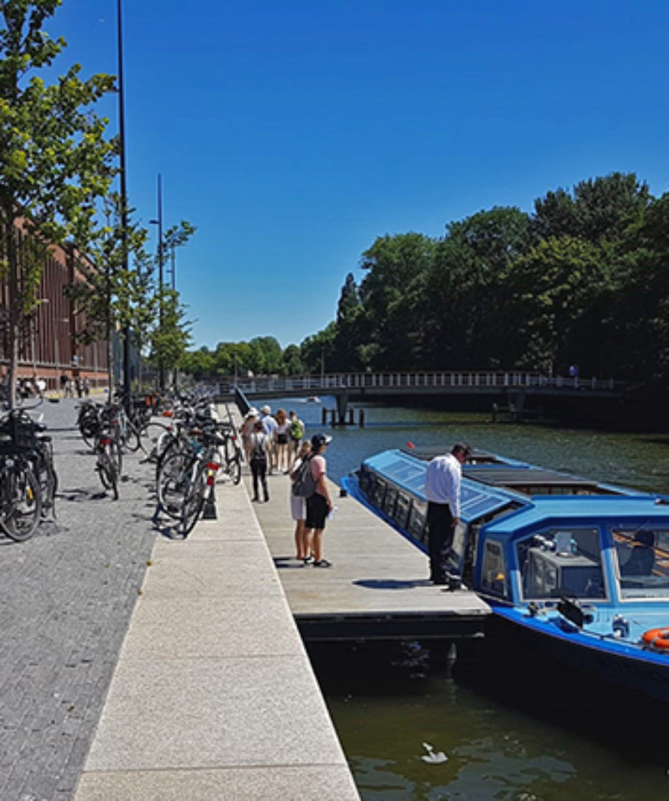 Boarding THE Amsterdam Canal Cruise