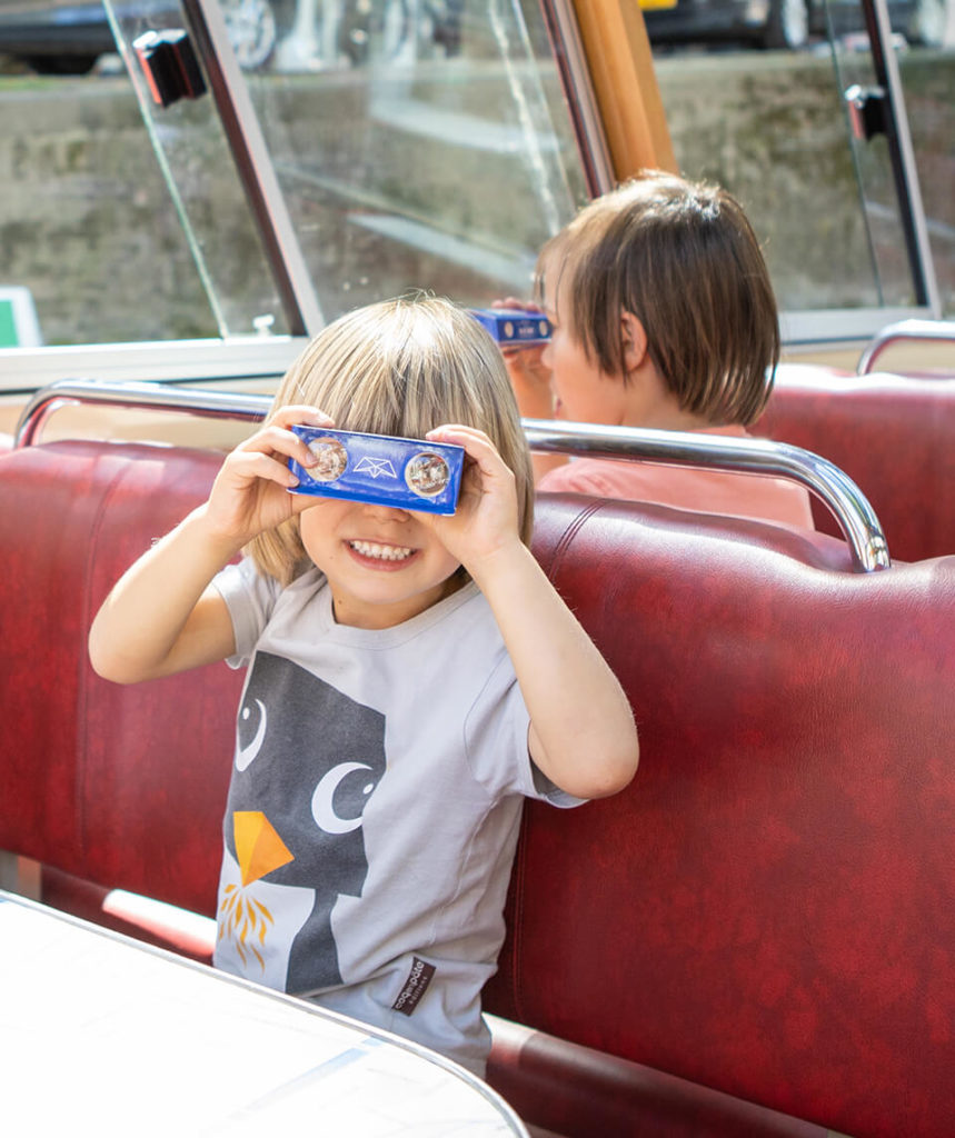 Kids Cruise City Canal Cruise | Blue Boat Amsterdam